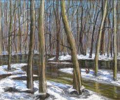 Spring Thaw Painting - Spring