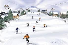 Ski slope in UK's flattest
