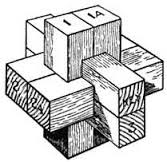 Chinese Cross Puzzle.