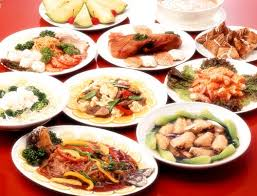 The Chinese food ...