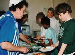 school meals last year.