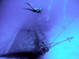 Diving at the Wreck