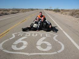 and myself on Route 66