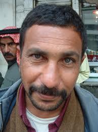 Iraqi man on Baghdad street