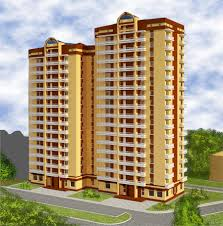 Two-sectional block of flats