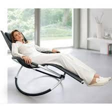 Rocking Chair, Black or White