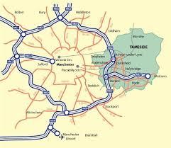 M60 Ring Road Map