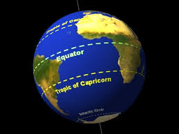 The equator is the parallel of