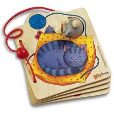 Chelona Mouse Wooden Book