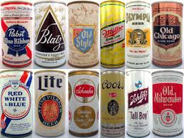 ... brother's beer can collection!