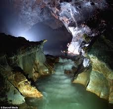 Cave In Vietnamese Jungle