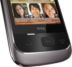 HTC Smart (front, bottom part,